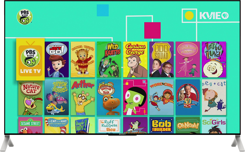 PBS KIDS app on TV with Fire TV