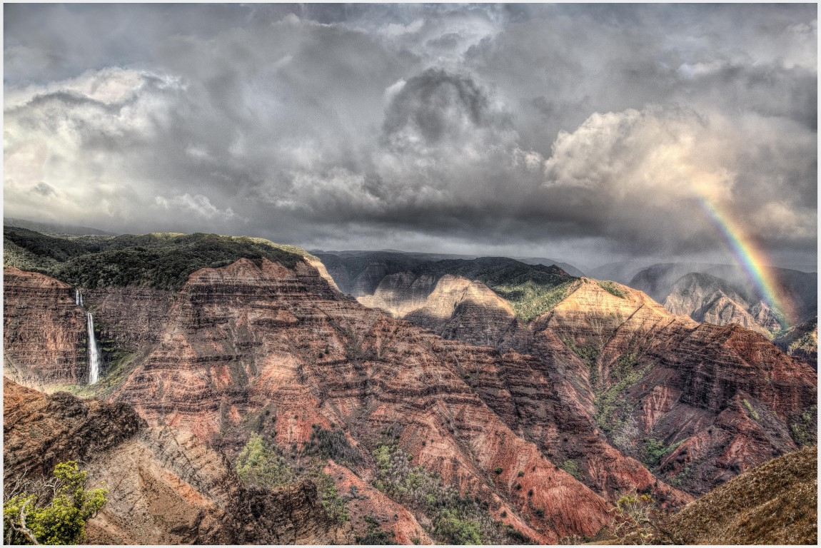 After the Storm - Waimea Canyon