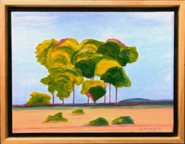 River Trees Near Clarksburg (SOLD)